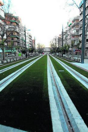Obras del Metro en la Avenida Andaluces. GH 2014