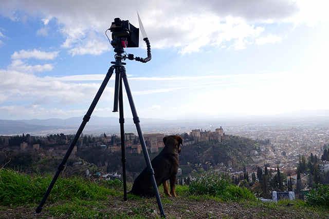 Posición de la cámara en San Miguel Alto.