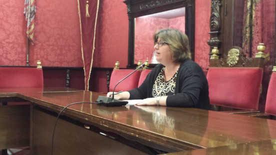 Ana Muñoz ha anunciado que su grupo votará en contra de la aprobación de la Ordenanza Reguladora de la Concesión de Subvenciones en Régimen de Concurrencia Competitiva. Foto: aG.