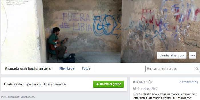 FB Granada esta hecha un asco