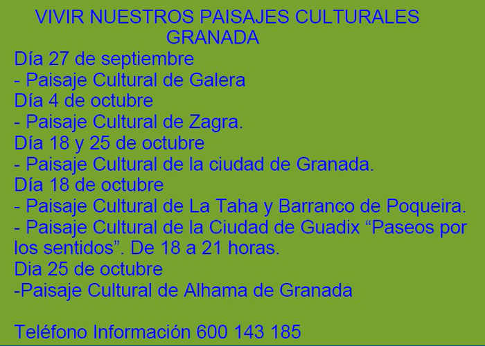 Jornadas Europeas Patrimonio 2014 actos
