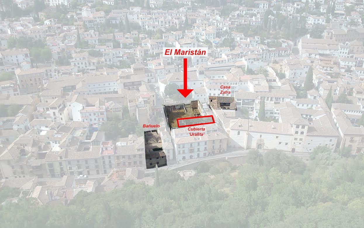 El Maristán desde la Torre de la Vela 2014
