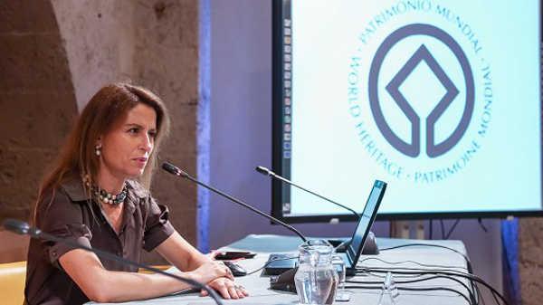 jefa de la Unidad de UNESCO para Latinoamérica y Caribe, la española Nuria Sanz. Foto aG