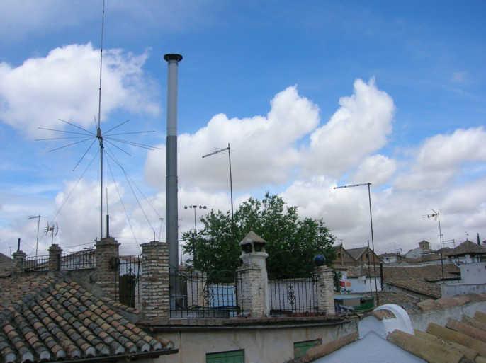Antena Horno de Hoyo 2007