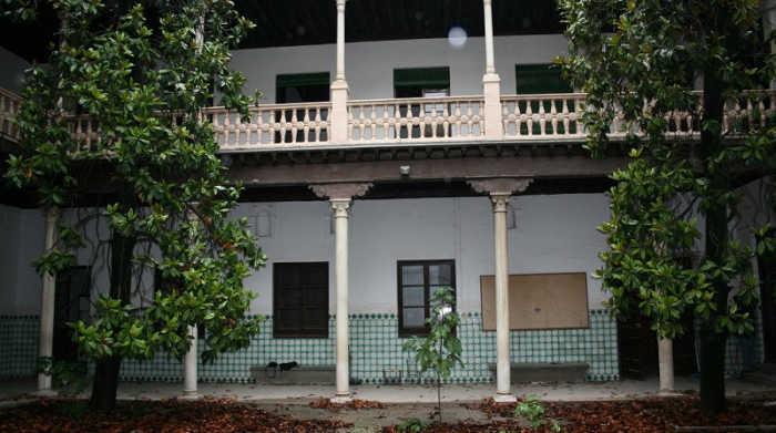 Casa Ágreda el patio en el año 2012. GiM 2014