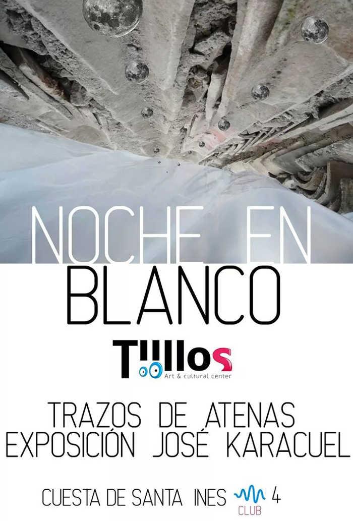 Exposicion Trazos Atenas en Tiillos Club