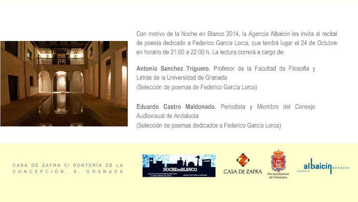 recital Casa Zafra