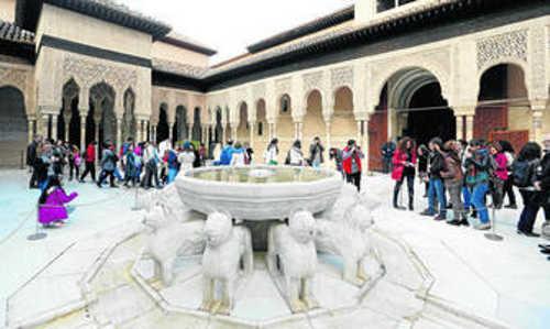 Alhambra visitas Dia Patrimonio GH2014