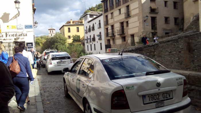 Carrera del Darro no peatonal 20141109