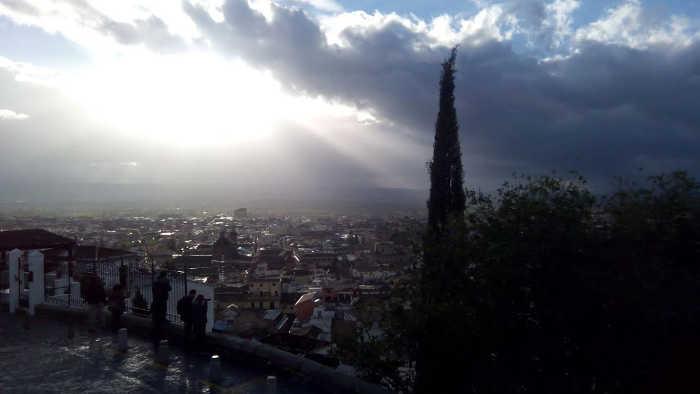 Después de la lluvia desde La Lona 20141111