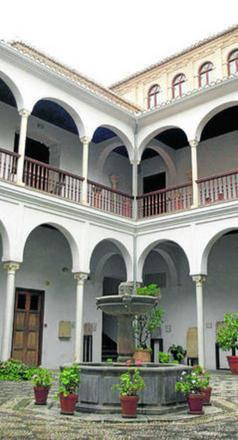 Imagen de archivo del patio del Museo Arqueológico. GH