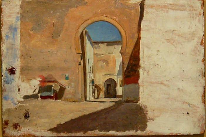 Puerta Elvira de Gómez Moreno 1878