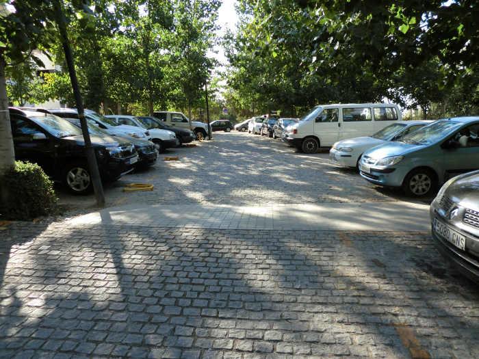 Aparcamiento Rey Chico. Foto: Movilidad Ayto. Granada