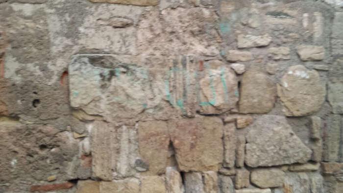 Pintada en el alminar  de San José 20141219