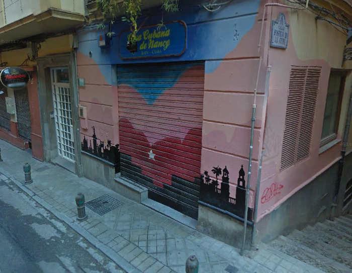Bar sin música Casa cubana de Nancy Azacayas, 11