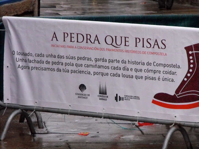 A pedra que pisas
