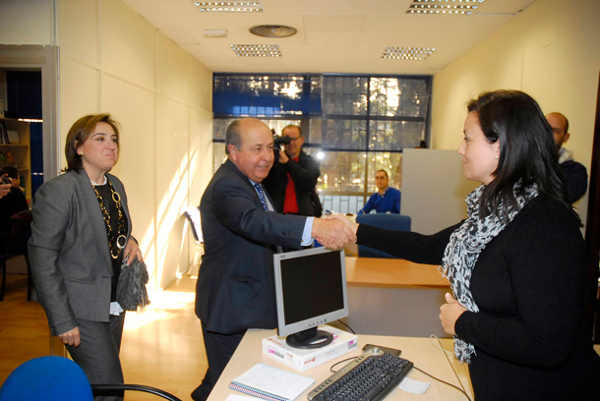 El Alcalde y la Delegada de la Junta en Granada