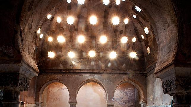 Alhambra baño de Comares ABC (Efe)