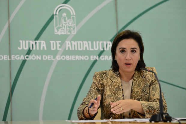 Sandra Garcia delegada gobierno Junta en granada