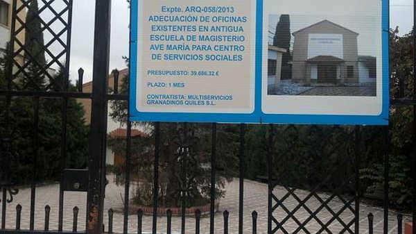 servicios sociales en el Ave Maria de carretera Murcia ID 2015