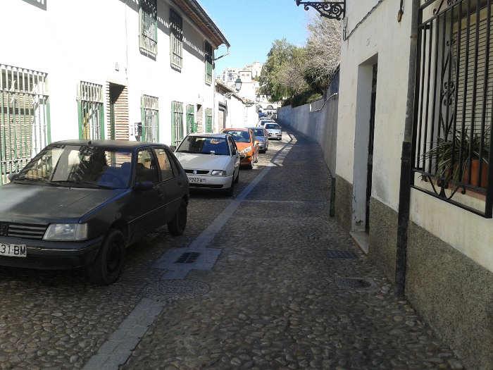 Coches aparcados en Zenete 20150209 a