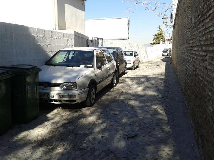 Coches aparcados en Zenete 20150209 c