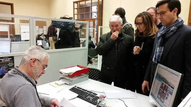 plataforma movilidad entrega firmas 2015 PSOE