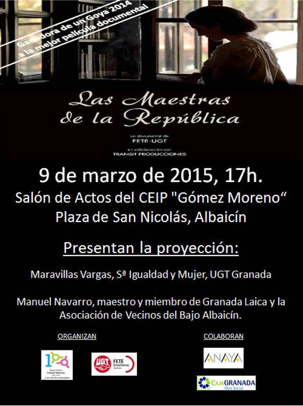 cartel las maestras de la republica 2015