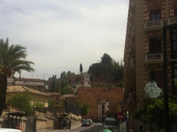 Pintadas Puerta Monaita desde Gran Via  20150422