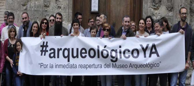 Concentración #ArqueológicoYa el sábado en la Casa de Castril con la presencia de Diego Valderas./ La Ciudad Accesible