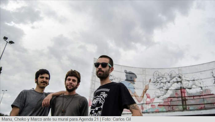 mural grafitti Granada 2015