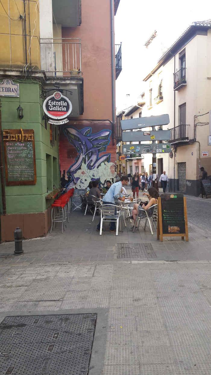 Bar Sonho calle Elvira y Cedran 20150502 a