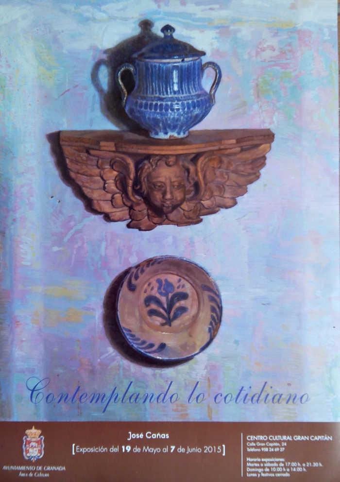Cartel Exposicion Pepe Canas 2015
