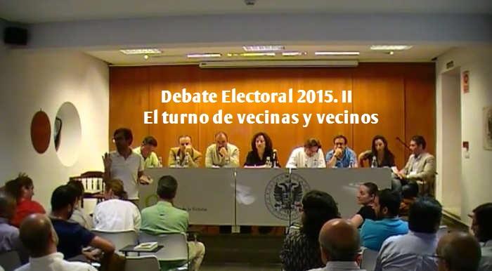 debate electoral Albayzin 2015