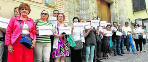 """Los integrantes de la plataforma que exige la reapertura espera que la noticia no sea """"electoralista""""."""