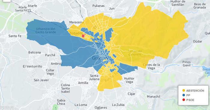 resultados electorales Granada 2011 GiM