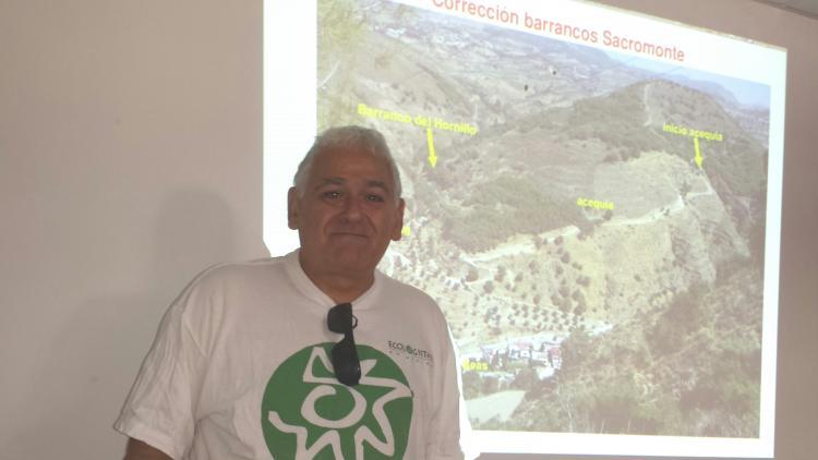Javier Egea, portavoz de Ecologistas en Acción. IndeGranada