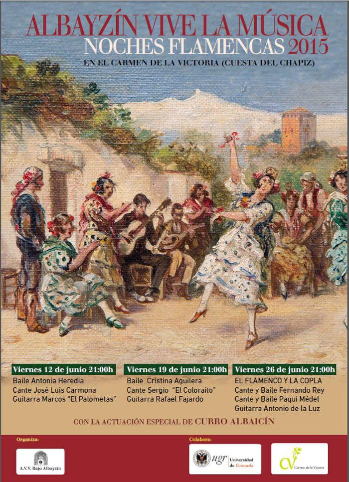 cartel noches flamencas 2015