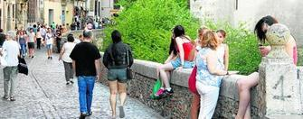turistas Carrera del Darro GH 2015