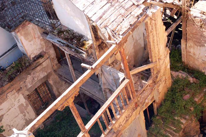 Casa morisca junto a Plaza Larga