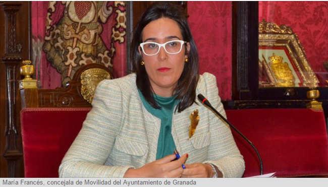 Maria Frances concejala de Movilidad 2015
