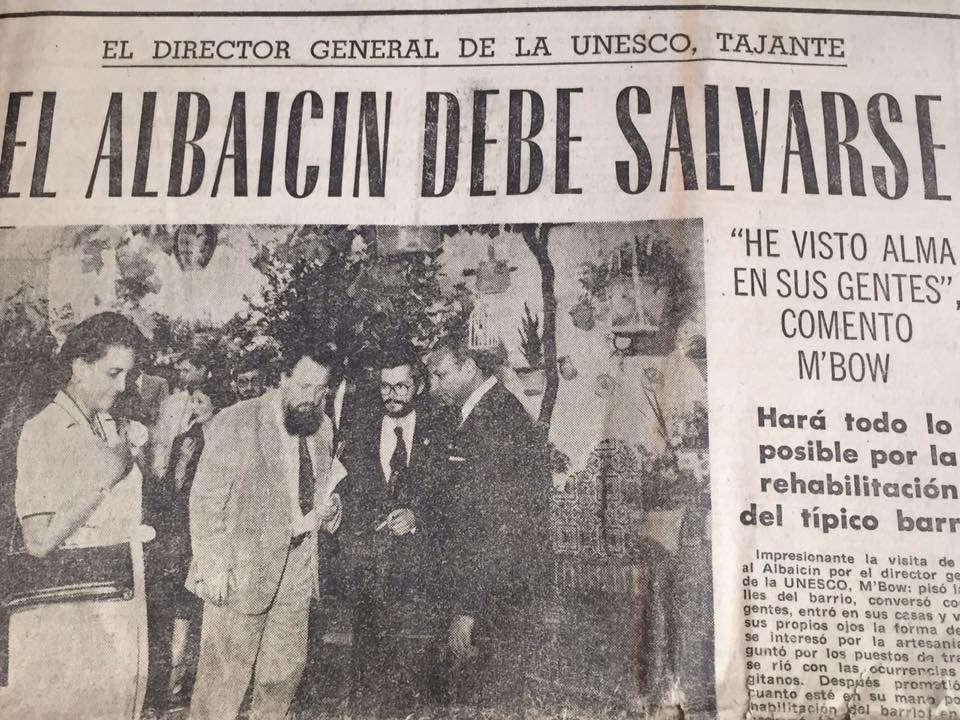 Visita Directo Unesco en Ideal 1981