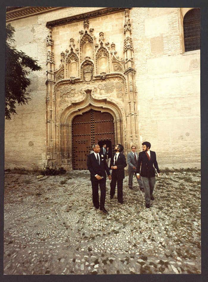Visita Director General UNESCO 1981 d  Santa Isabel