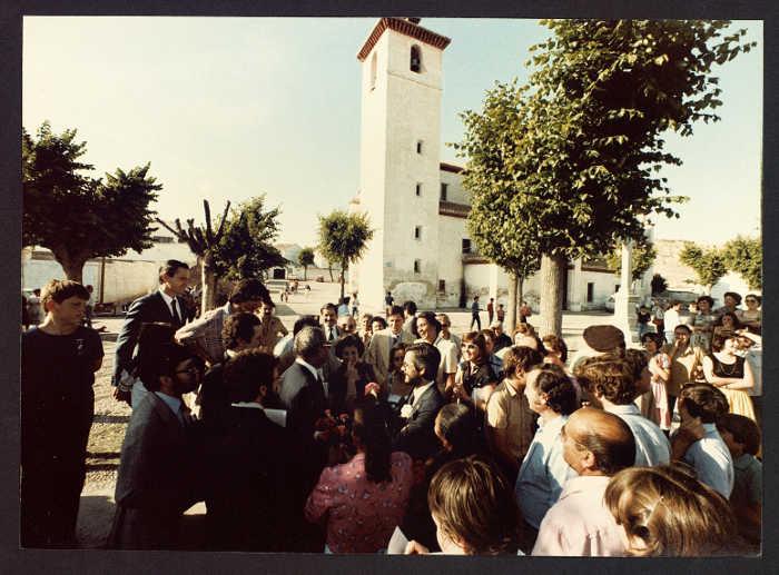 Visita Director General UNESCO 1981 f San Nicolas