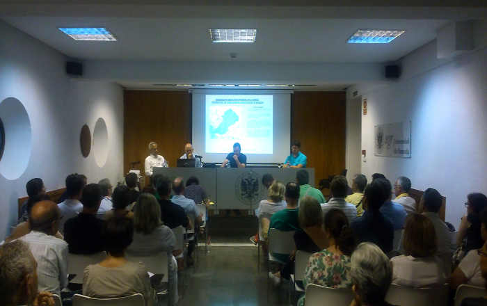 charla proyecto Darro Valparaiso CHG 2015