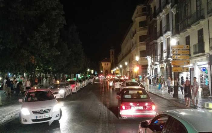 taxis Plaza Nueva 20150825 b