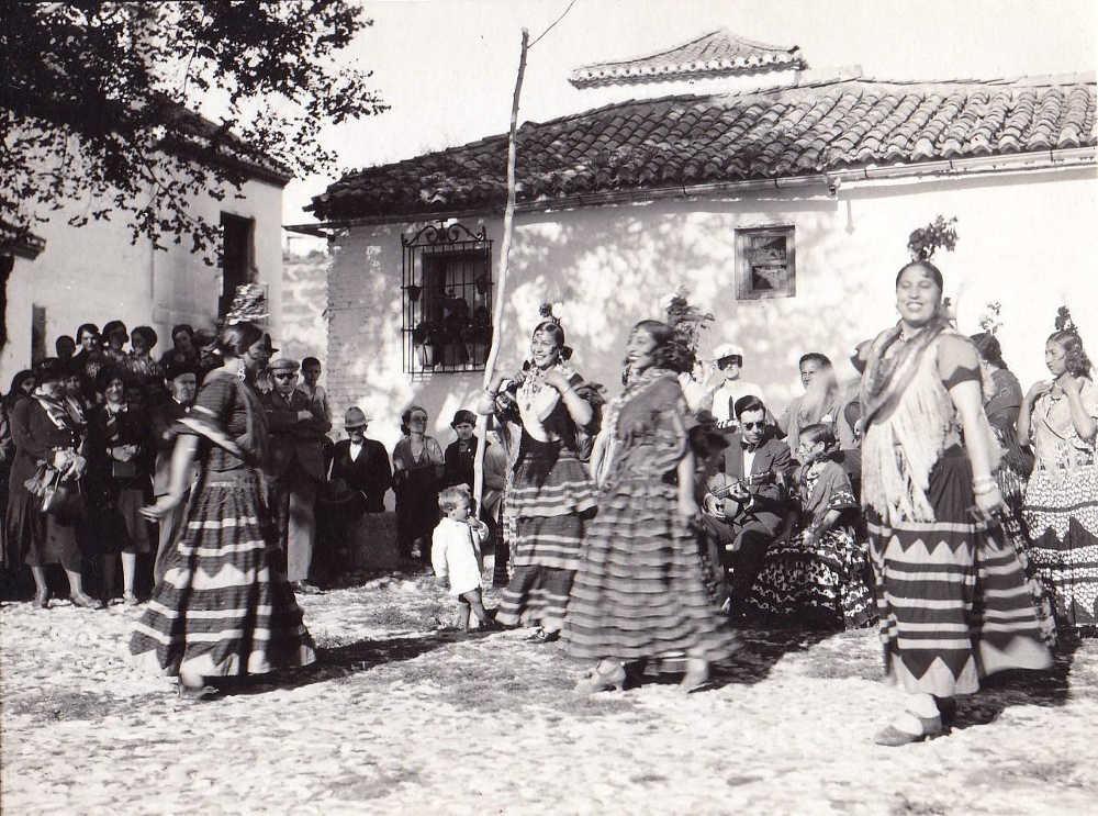 Artistas mirador de San Nicolas 1933