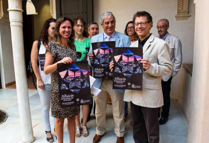 Reynaldo Fernández y Rocío Díaz durante la presentación de la iniciativa.