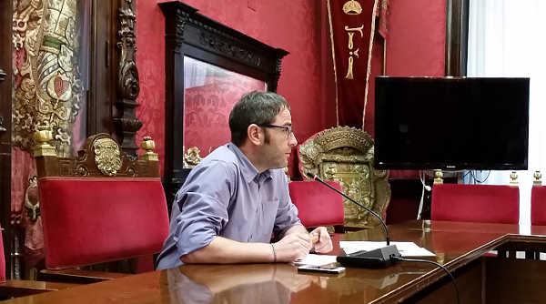 El concejal socialista Miguel Ángel Madrid.