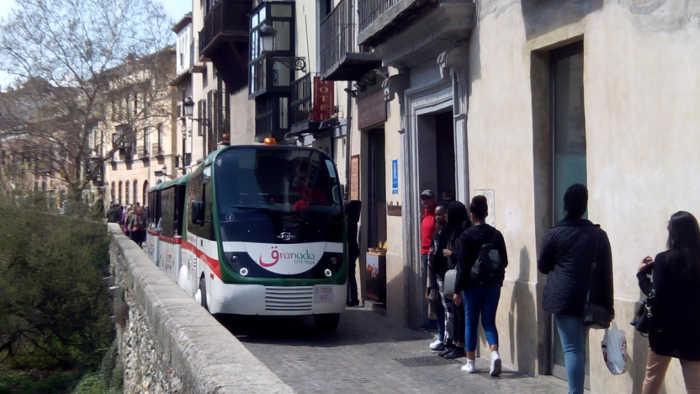 Tren turistico Carrera Darro